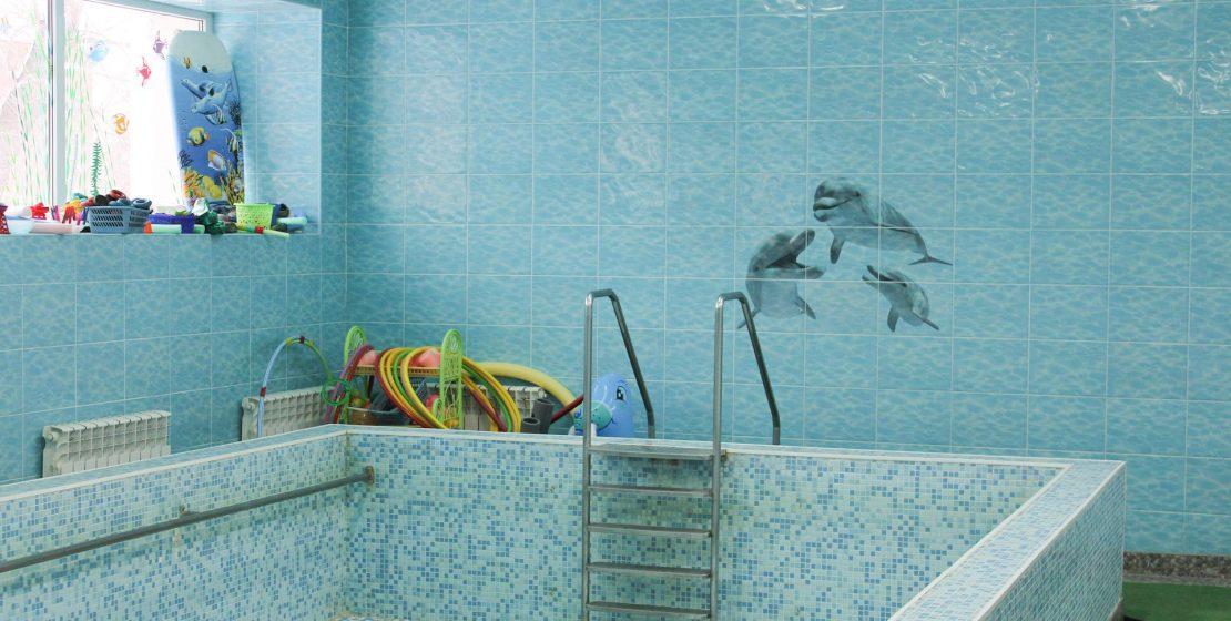 детский бассейн ремонт в Харькове