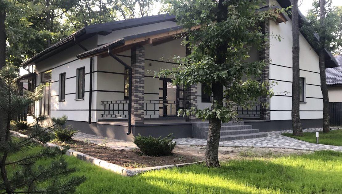 строители коттедж Лесное Харьков